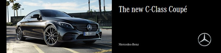 Mercedes-Benz C-Class Coupé: Experience the vehicle